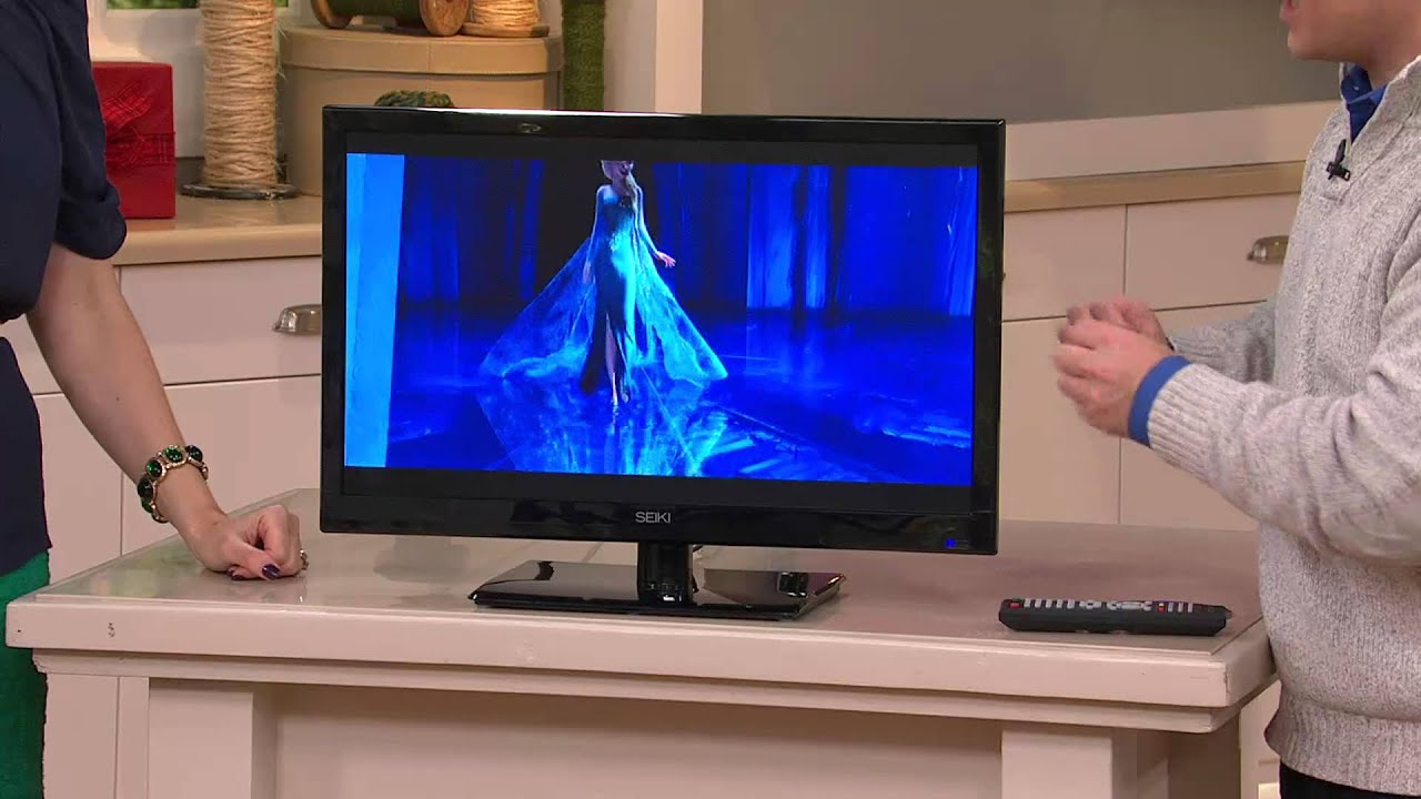 Seiki 24 Led 1080p Hdtv With Built In Dvd Player With Sandra