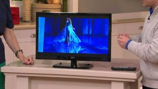 "Seiki 24"" LED 1080p HDTV with Built-in DVD Player with Sandra Bennett"