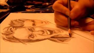 Drawing of Andy Biersack ( Black Veil Brides)