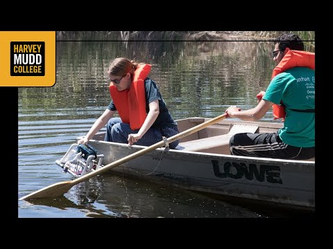 Students in E 79 test their underwater robots
