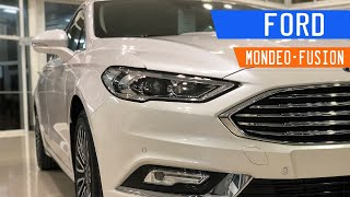 Ford Mondeo/Fusion MY18 Review | Manejando