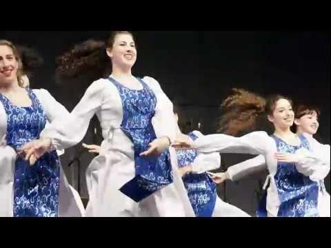 HAVA NAGILA Jewish Punjabi Israel India Dance - Downtown Bhangra Vancouver