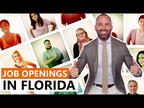 Job Openings in Florida