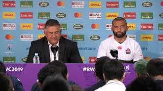 Press Conference: Head coach Jamie Joseph and Captain Michael Leitch on historic win