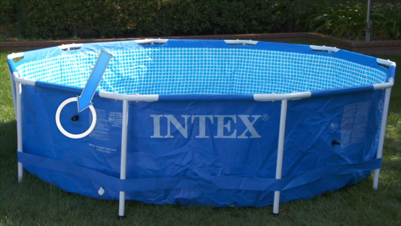 Intex Zwembad 2.60 X 1.60 Piscine Intex Metal Frame Ø 3 66 X 76 M