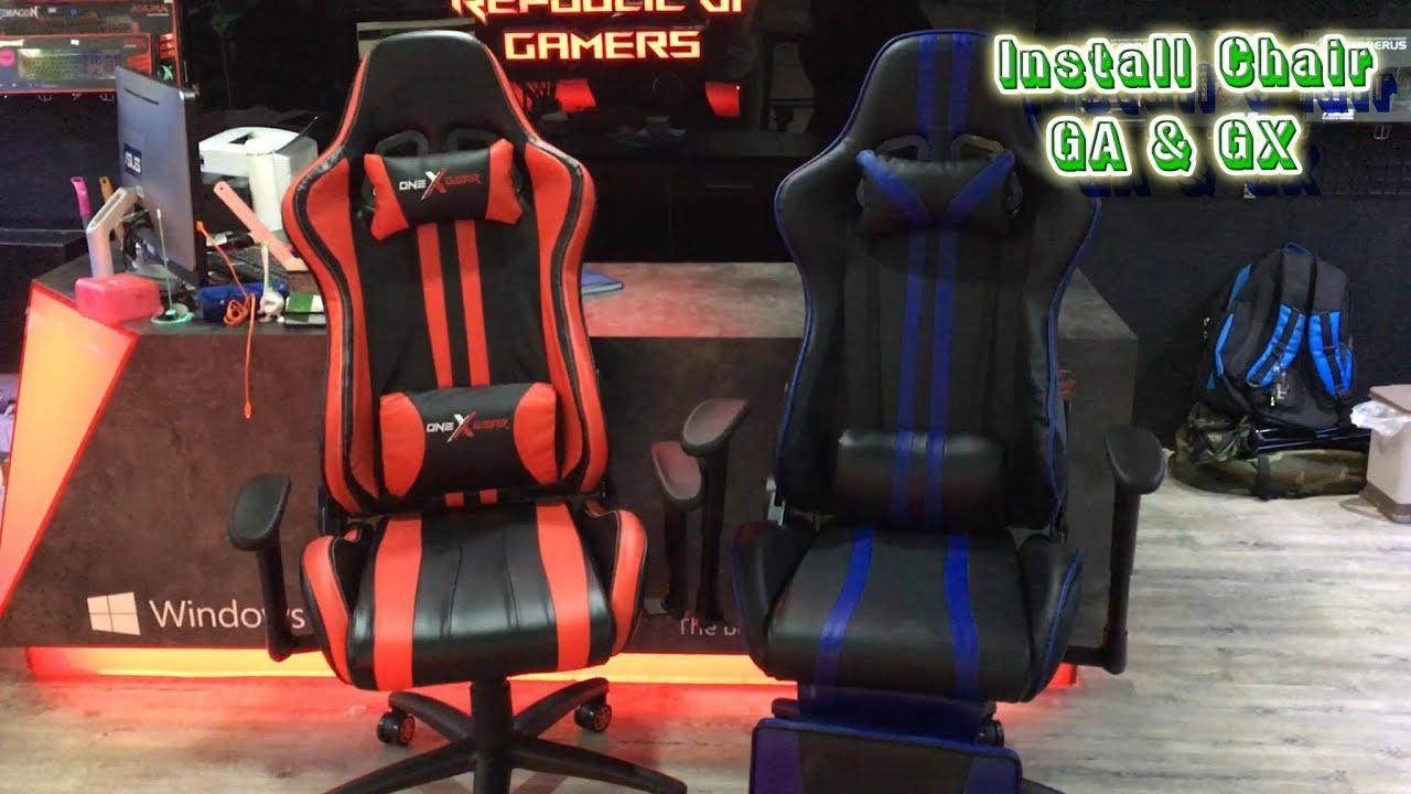 How to Install Gaming Chair GA & GX (One X Gear)