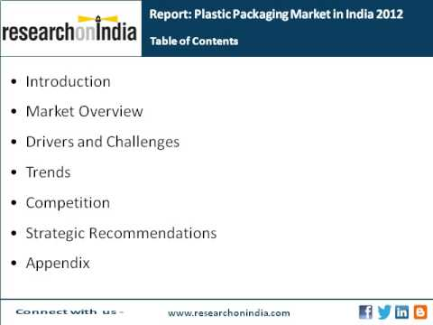 Market Research India : Plastic Packaging Market in India 2012