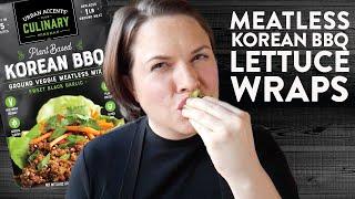 Meatless Monday Korean BBQ Wraps   Cook School   Urban Accents