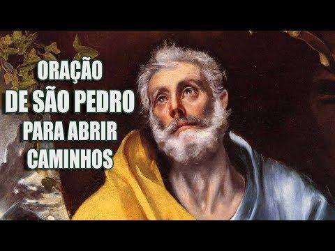 Oração Poderosa de São Pedro para abrir caminhos