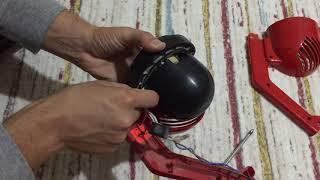 Fantom P 1200 Pratic Süpürgesi Tırnak Değiştirme ve Motor Bakımı