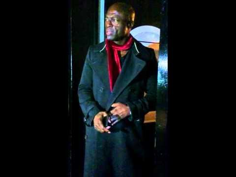 Seal Saying Hello To People Outside Sarm Studios