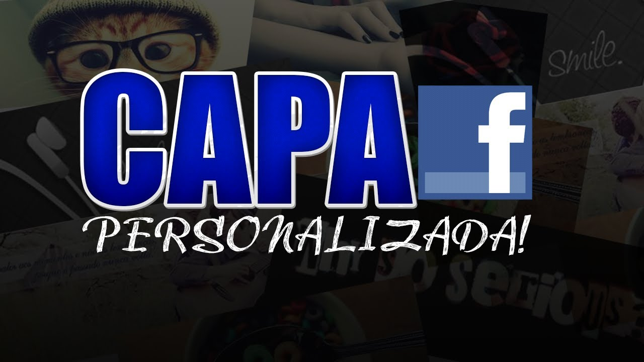 Photoshop criando capa para facebook personalizada youtube for O jardineiro fiel capa