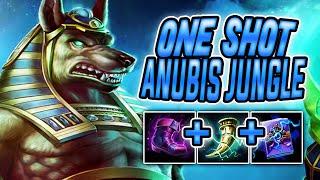 ONE SHOT ANUBIS JUNGLE SMITE Conquest Season 7