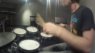 V-Drum Performance Kat Frankie 'Serves You Right For Using Violence'