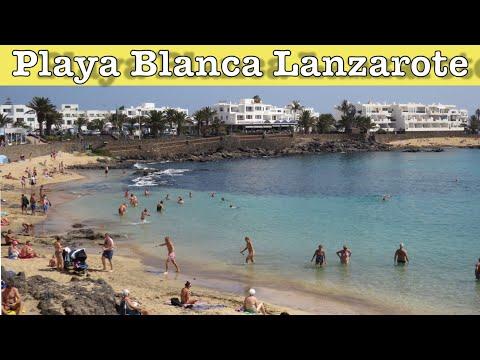 Playa Blanca Lanzarote Canary Islands