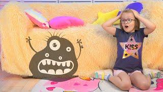 Богдана и монстр под кроватью | Весёлые истории для детей