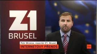 Prezident Václav Klaus míří do Bruselu   Yann Zane a Petr Mrzena