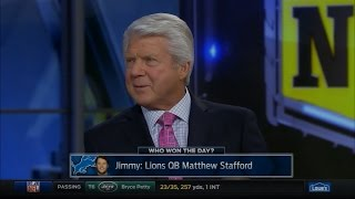 Jimmy Johnson Impressed with Matthew Stafford & Lions After Week 14, 2016