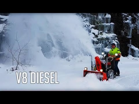 V8 snowblower for sale