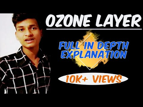OZONE layer:MATHS POWER