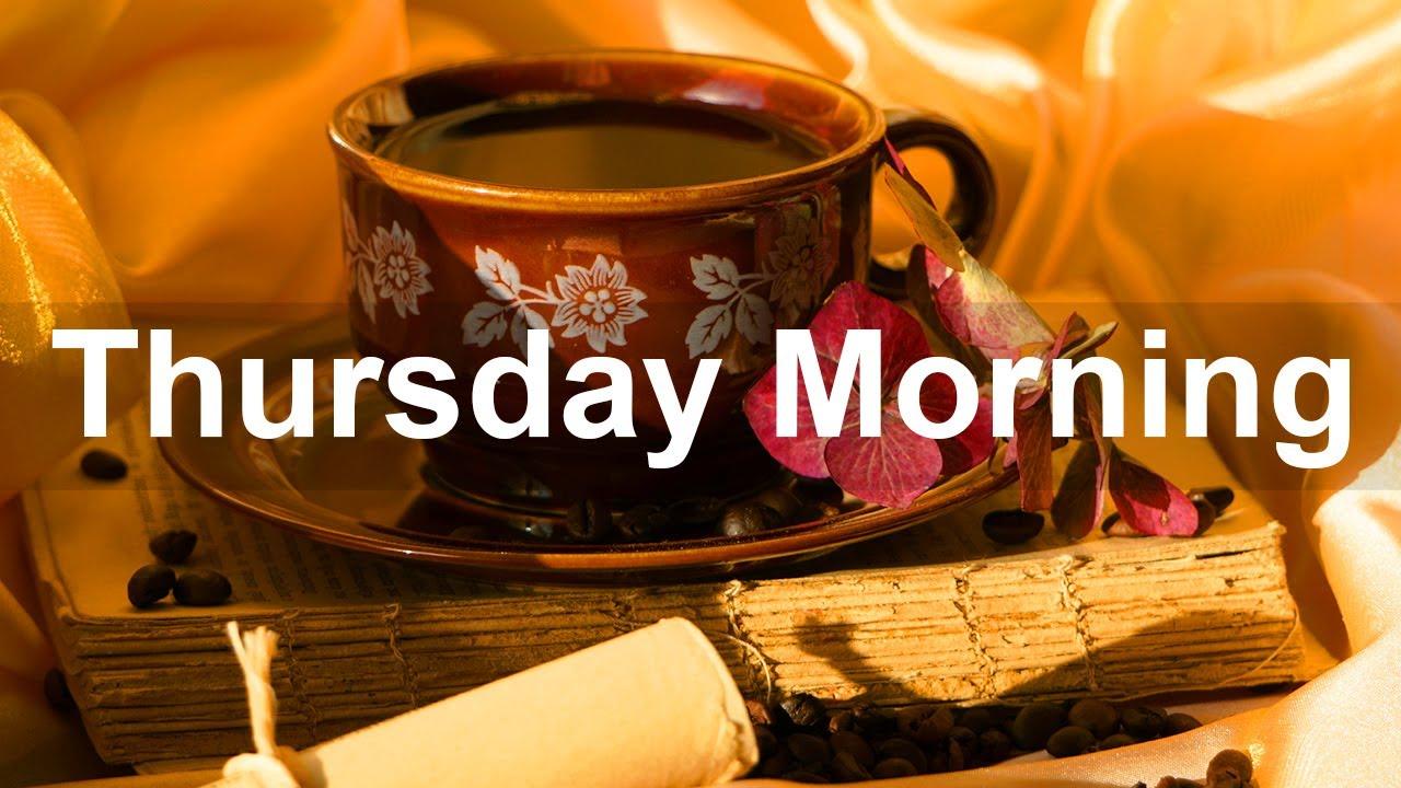 Thursday Morning Jazz - Bossa Nova \u0026 Jazz Coffee Music Autumn Vibes