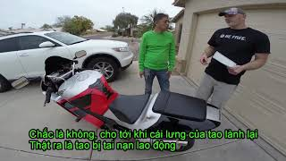 MVlog 54: Kí sự mua moto cũ ở Mỹ, mua lộn Ducati nhái
