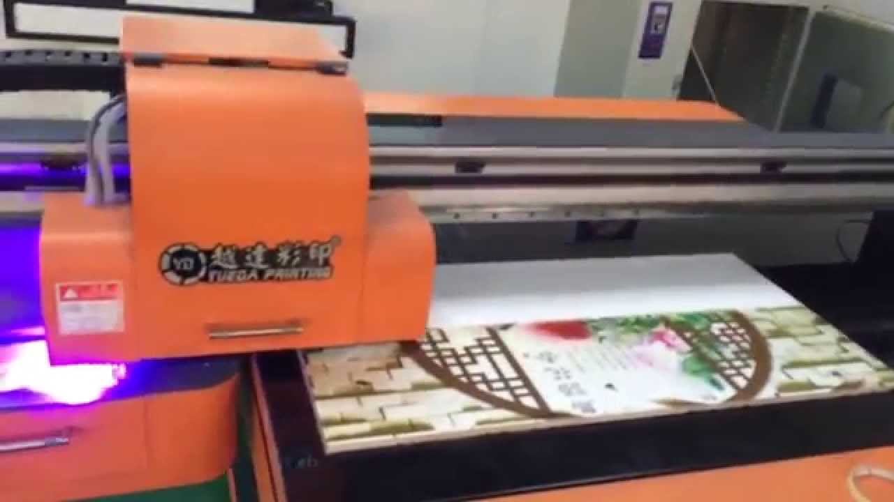 uv flatbed printing on