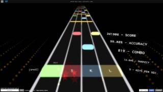 Rhythm Track: F-777 Space Battle | 100% Accuracy | 5:12