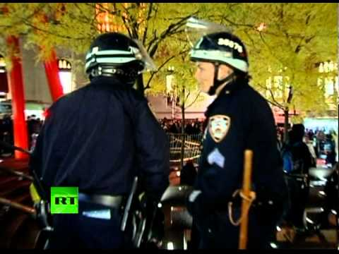 End All Wars! RT footage of OWS fighting Zuccotti park back