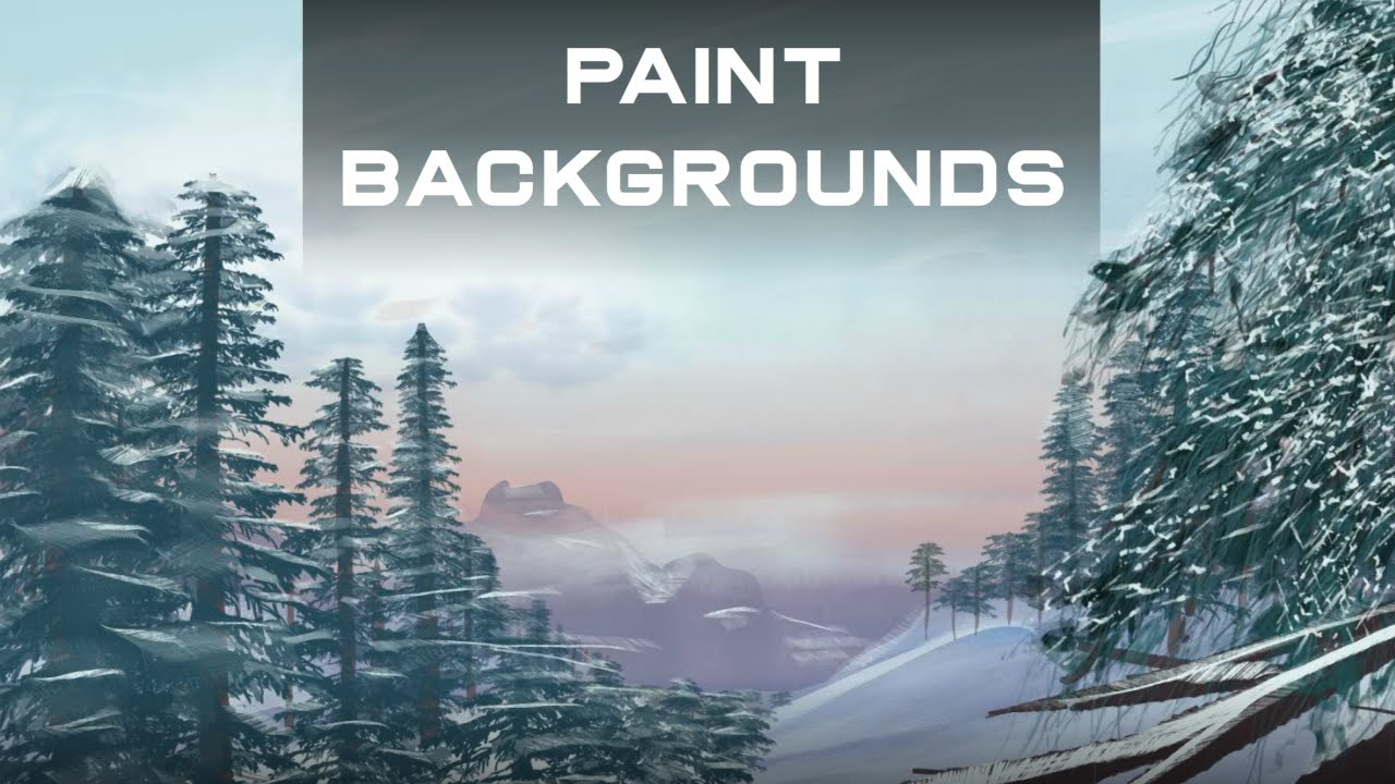 How To Paint Backgrounds For Animation