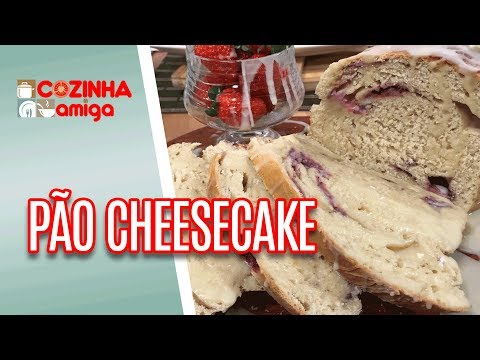 Pão Cheesecake De Morango - Gabriel Barone | Cozinha Amiga (24/04/18)