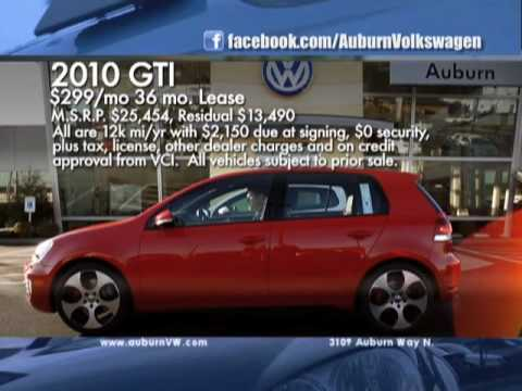 Auburn Volkswagen Punch Dub TV commercial