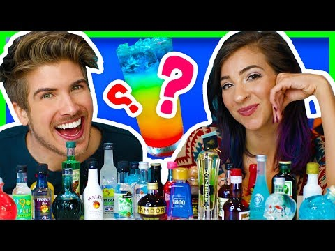 MIXING EVERY TYPE OF ALCOHOL! - TASTE TEST! W/ GABBIE SHOW