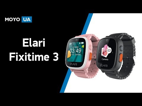 Обзор детских смарт часов Elari Fixitime 3