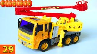 Машинки мультфильм - Город машинок - 29 серия: Автоподъемник, внедорожник. Развивающие мультики(Представляем вам новый мультик про машинки