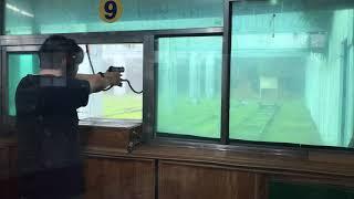 제주 대유랜드 사격장 H&K USP 9mm 사격…