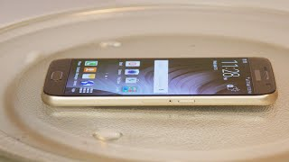 Samsung Galaxy S6 in Microwave - Will it Charge?