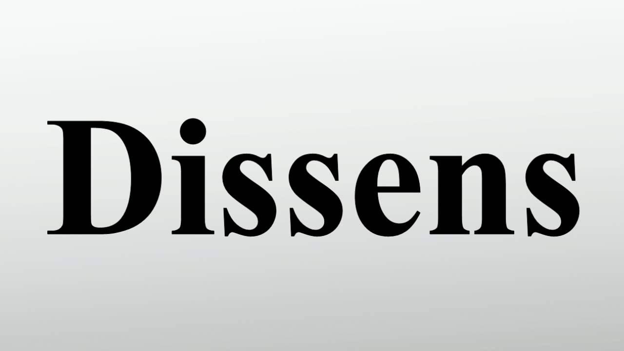 Dissens Youtube