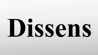 Dissens