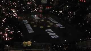 DEG Erlebnis Eishockey Saison 2012/2013 Projektionsshow