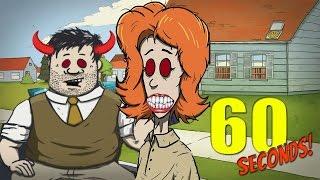 WORST PARENTS EVER CHALLENGE | 60 Seconds Game