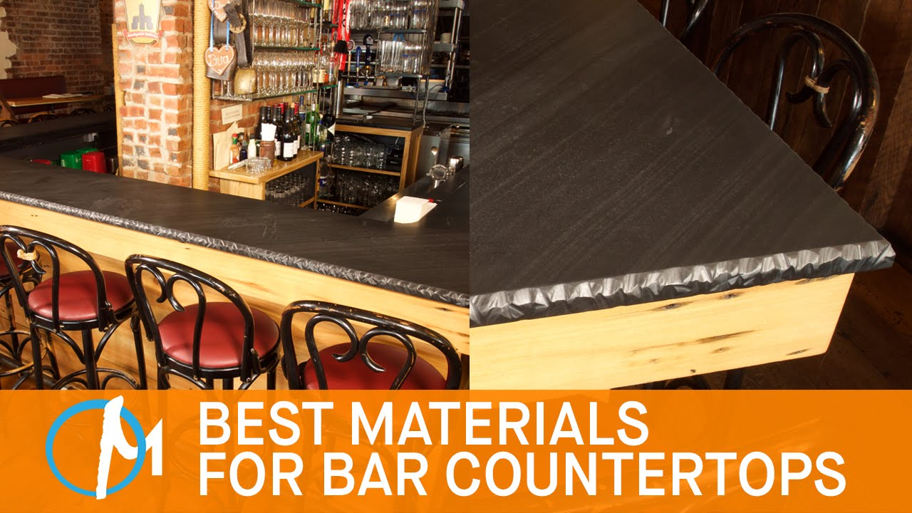 The Best Materials For Bar Countertops | Marble.com   YouTube