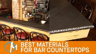 The Best Materials For Bar Countertops | Marble.com