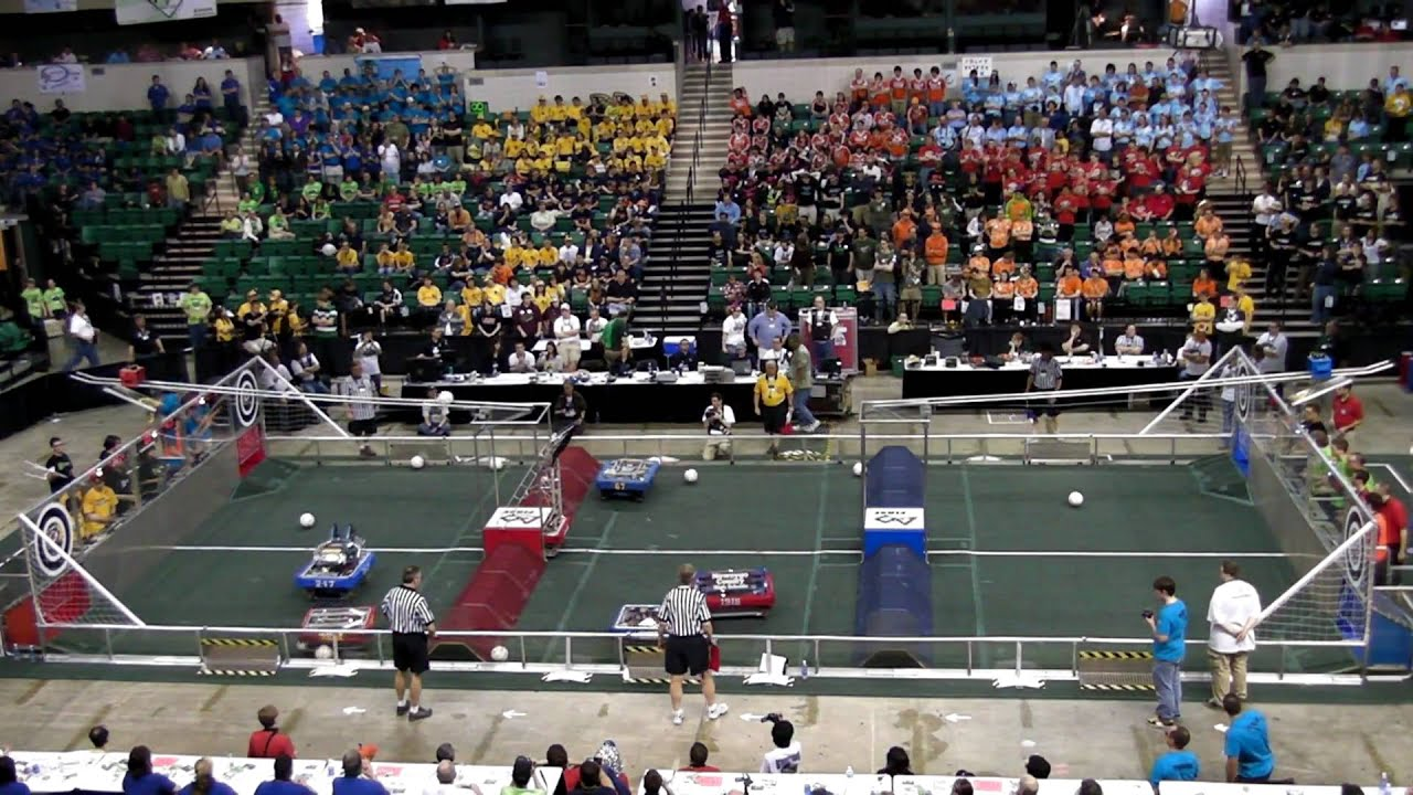First Robotics Michigan State Championship Finals FRC