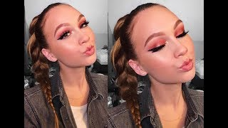 Ariana Grande-inspired 'No Tears Left to Cry' makeup tutorial   Elora Jean