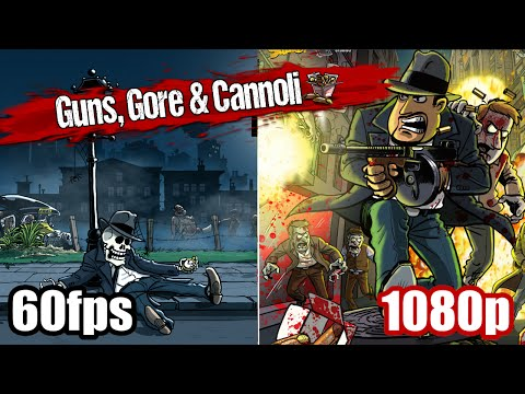 Guns, Gore & Cannoli Gameplay - Mafia Gangster Zombie Game 1080p 60fps Let's play