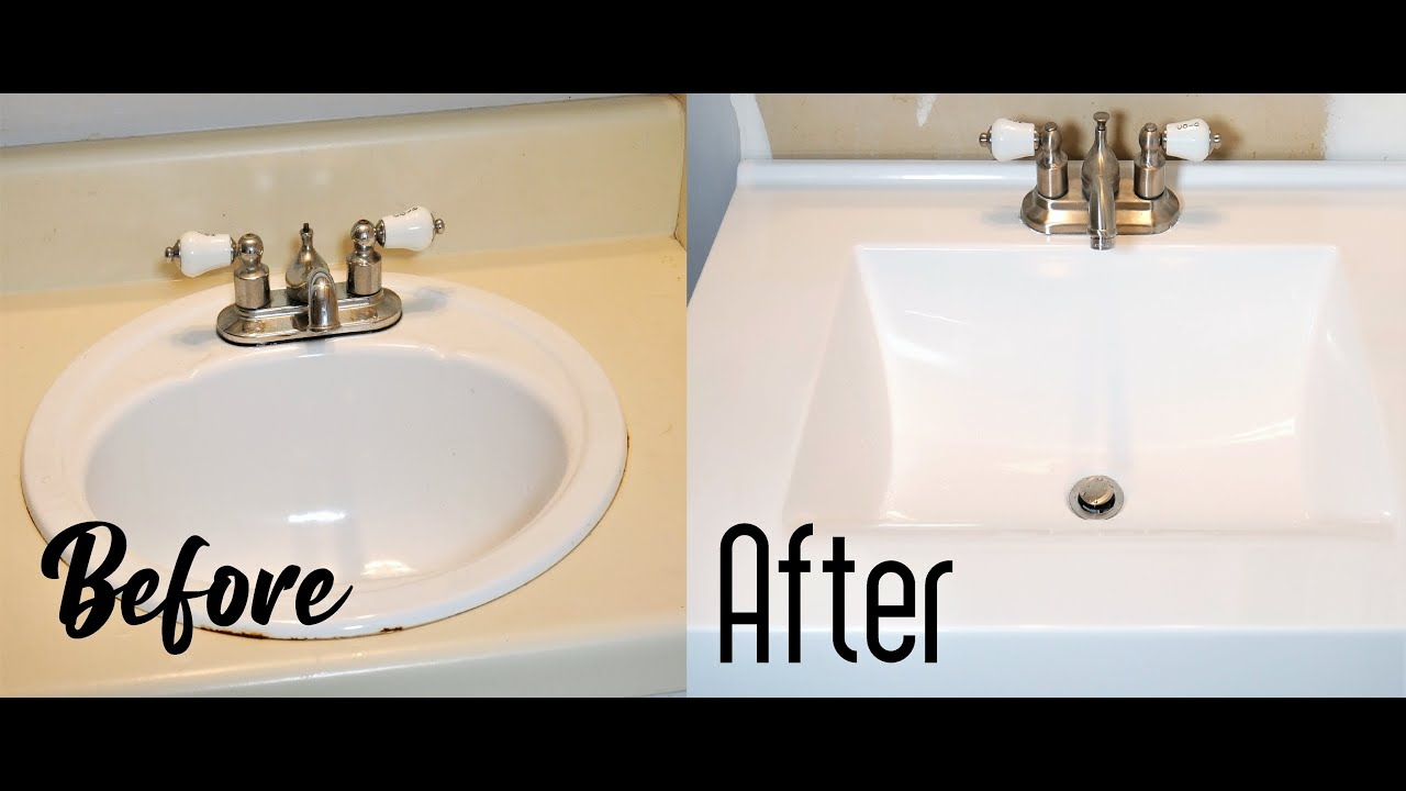 How To Replace Install Vanity Top Easy, Replacing Bathroom Countertops
