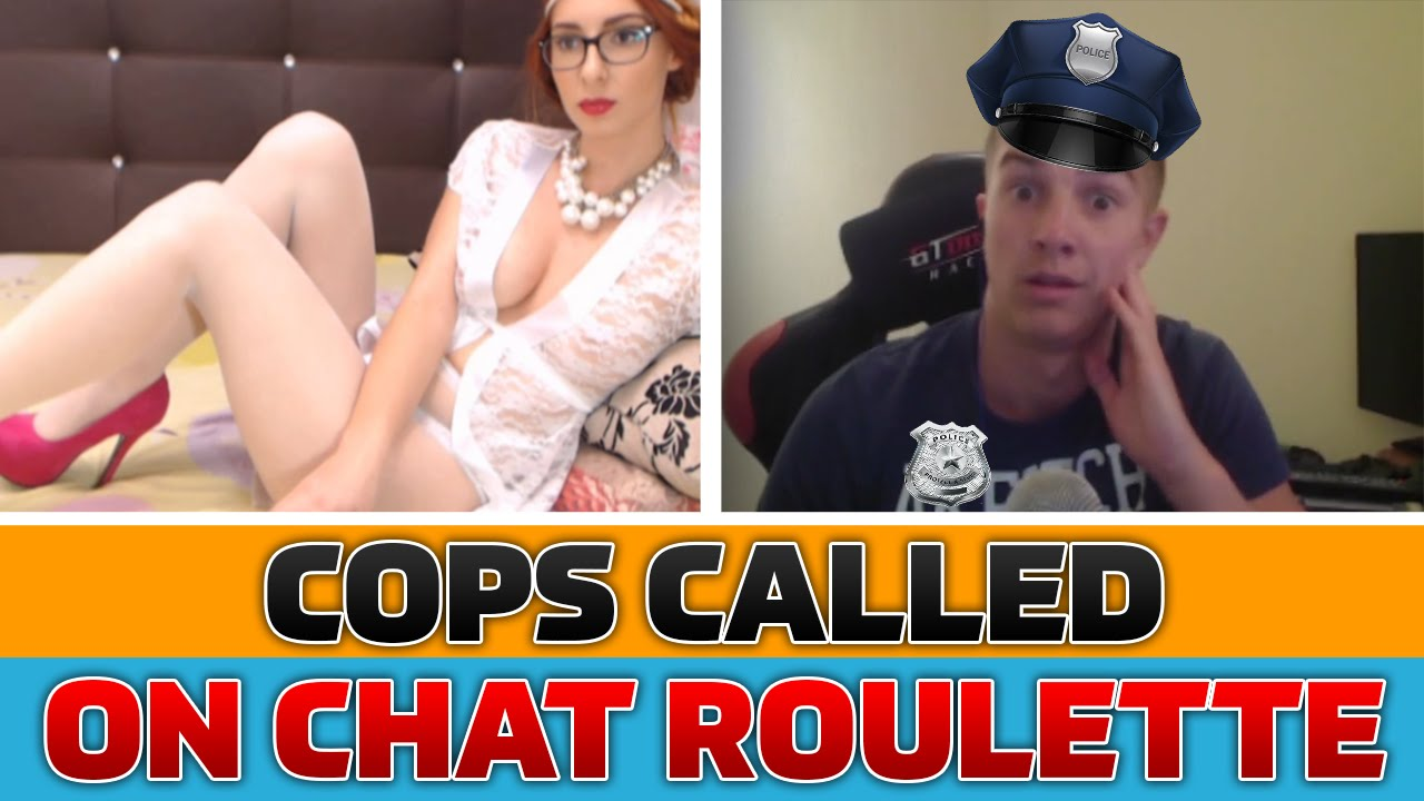 GETTING ARRESTED on Chatroulette