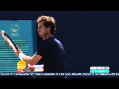Ross Hutchins Talks About Andy Murray's Game - Good Morning Britain