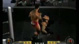 Undertaker vs. Batista Last Man Standing DoR2 Bloody pt. 2